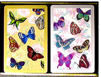 butterfly bridge game playing cards